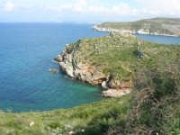 Golfo di Castellammare - la costa tra Guidaloca e Castellammare del Golfo - 5 aprile 2009  - Castellammare del golfo (967 clic)
