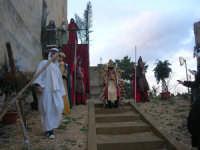Epifania drammatizzata con quadri viventi a Salemi - interpreti durante le prove - 6 gennaio 2009    - Salemi (2449 clic)