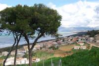 Zona Aleccia - Golfo di Castellammare, lato est, e monti innevati - 13 febbraio 2009  - Alcamo marina (2810 clic)