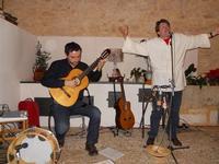 Concerto NAPOLINCANTO - Domenico De Luca (chitarra solista e percussione), Gianni Aversano (voce e chitarra) - 10 dicembre 2009   - Alcamo (1619 clic)