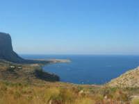 Capo San Vito e la costa sul golfo di Castellammare - 30 agosto 2008   - San vito lo capo (657 clic)