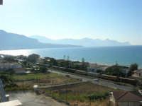 zona Plaja - panorama del golfo di Castellammare, lato ovest - 6 agosto 2008  - Alcamo marina (735 clic)