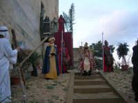 Epifania drammatizzata con quadri viventi a Salemi - interpreti durante le prove - 6 gennaio 2009    - Salemi (2400 clic)