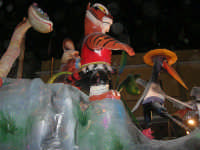 Carnevale 2009 - Sfilata carri allegorici - 24 febbraio 2009   - Balestrate (3382 clic)