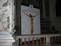 Fulget crucis mysterium - Il Crocifisso ritrovato - pannelli didattici all'interno della Chiesa dl Collegio - 13 marzo 2009   - Trapani (2053 clic)