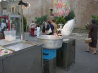 Festeggiamenti Maria SS. dei Miracoli - Fiera Piazza della Repubblica: l'angolo dello zucchero filato - 20 giugno 2008  - Alcamo (822 clic)
