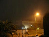 nevicata serale - 14 febbraio 2009   - Alcamo (3141 clic)
