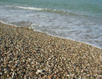 Baia di Guidaloca: i sassi ed il mare - 21 febbraio 2009  - Castellammare del golfo (1870 clic)