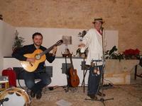 Concerto NAPOLINCANTO - Domenico De Luca (chitarra solista e percussione), Gianni Aversano (voce e chitarra) - 10 dicembre 2009   - Alcamo (1599 clic)