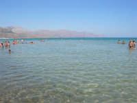 mare calmo e trasparente - 13 agosto 2008  - Alcamo marina (821 clic)