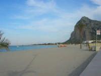 spiaggia, mare e monte Monaco - 10 maggio 2009    - San vito lo capo (2196 clic)