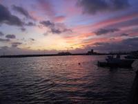 al porto dopo il tramonto - 8 dicembre 2009  - Trapani (1678 clic)