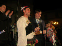Carnevale 2009 - cerimonia della premiazione: presenti il Sindaco di Balestrate ed il Presidente della Provincia di Palermo - 24 febbraio 2009   - Balestrate (3807 clic)