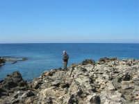 Golfo del Cofano: la scogliera e lo stupendo mare - 24 febbraio 2008   - San vito lo capo (537 clic)