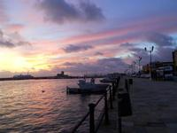 al porto dopo il tramonto - 8 dicembre 2009  - Trapani (1740 clic)