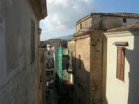 centro storico: via Porta Stella - 25 dicembre 2007  - Alcamo (760 clic)