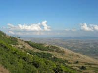 panorama dal monte Erice: guardando a sud-est - 28 settembre 2008    - Erice (826 clic)