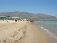 zona Tonnara - mare calmo e trasparente - 13 agosto 2008  - Alcamo marina (849 clic)
