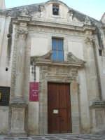 Chiesa dell'Oratorio o di S.Bartolomeo (Museo del Pane) - 11 ottobre 2007   - Salemi (2608 clic)