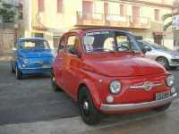 FIAT 500: mitiche! - 25 ottobre 2009   - Marinella di selinunte (3113 clic)