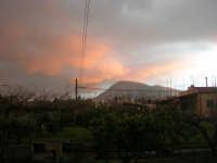 Monte Bonifato - rosa tramonto - 13 febbraio 2009   - Alcamo (2443 clic)