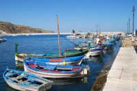 le barche dei pescatori attraccate al molo - 2 ottobre 2007  - Castellammare del golfo (606 clic)