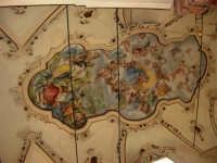 Santuario della Madonna dei Miracoli: dipinto sul soffitto (di Alessandro Abate - maggio 1947) - 6 settembre 2008   - Alcamo (1089 clic)