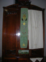 Cene di San Giuseppe - mostra di manufatti - ricami - 15 marzo 2009   - Salemi (2302 clic)