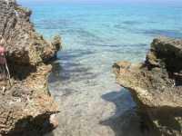 Golfo del Cofano - mare e scogli - 1 agosto 2009  - San vito lo capo (1550 clic)