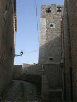 Chiesa di San Martino - torre campanaria - 1 maggio 2008  - Erice (1048 clic)
