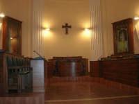 interno dell'ex Chiesa di Maria SS. degli Agonizzanti - sec. XVII - (aula consiliare) - 16 settembre 2007   - Castellammare del golfo (669 clic)