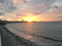 Lungomare Dante Alighieri - tramonto - 13 marzo 2009   - Trapani (2127 clic)