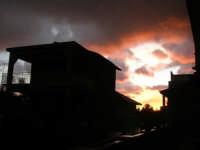 rosa tramonto - 13 febbraio 2009   - Alcamo (2530 clic)