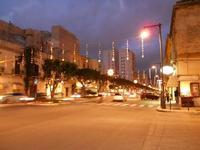 luci natalizie in via Fardella - 8 dicembre 2009  - Trapani (2424 clic)