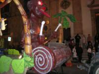 Carnevale 2008 - Sfilata Carri Allegorici lungo il Corso VI Aprile - 2 febbraio 2008   - Alcamo (832 clic)