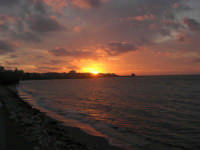 Lungomare Dante Alighieri - tramonto - 13 marzo 2009   - Trapani (2113 clic)