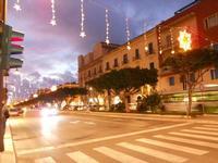 luci natalizie in via Fardella - 8 dicembre 2009  - Trapani (2745 clic)