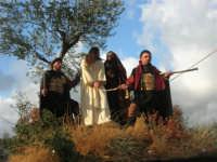 Processione della Via Crucis con gruppi statuari viventi - 5 aprile 2009   - Buseto palizzolo (1642 clic)