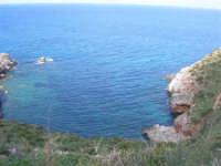 Golfo di Castellammare - la costa tra Guidaloca e Castellammare del Golfo - 5 aprile 2009  - Castellammare del golfo (877 clic)