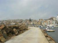 il paese visto dal porto - 1 marzo 2009  - Marinella di selinunte (1725 clic)