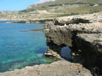 Golfo del Cofano: la scogliera e lo stupendo mare - 24 febbraio 2008   - San vito lo capo (546 clic)