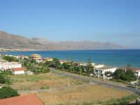 zona Plaja - panorama del golfo di Castellammare, lato ovest - 8 agosto 2008  - Alcamo marina (876 clic)