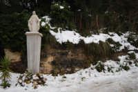 neve sul monte Bonifato - l'Immacolata - 15 febbraio 2009   - Alcamo (2831 clic)