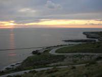 Macari - tramonto all'Isulidda - 19 aprile 2009  - San vito lo capo (1222 clic)