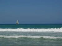 mare mosso - vela oltre le onde - 5 luglio 2008   - Alcamo marina (790 clic)