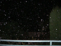 nevicata serale - 14 febbraio 2009   - Alcamo (2226 clic)