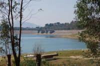 LAGO POMA - lago artificiale nei pressi di Partinico - Diga Jato - 5 ottobre 2007  - Partinico (1346 clic)