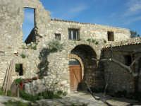 Castello di Baida - cortile interno - 21 febbraio 2009  - Balata di baida (3068 clic)