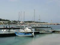 il porto, il faro  - 25 aprile 2006   - San vito lo capo (807 clic)