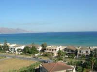zona Plaja - panorama del golfo di Castellammare, lato ovest - 8 agosto 2008  - Alcamo marina (789 clic)